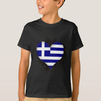 T-shirt Amour Grèce du cru I