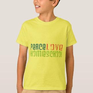 T-shirt Amour Homeschool de paix