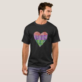 T-shirt Amour, justice, paix - la pièce en t des hommes