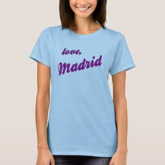 T-shirt Amour, Madrid - strappy bleu