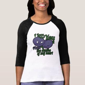 T-shirt Amour mignon de prune