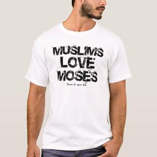 T-shirt Amour Moïse de musulmans