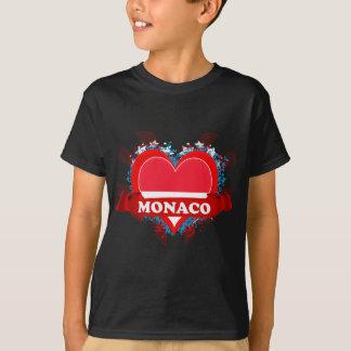T-shirt Amour Monaco du cru I