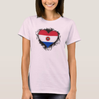 T-shirt Amour Paraguay du cru I