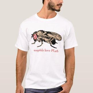 T-shirt Amour PLoS de drosophile