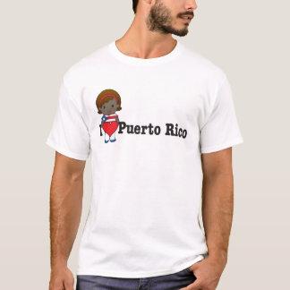 T-shirt Amour Porto Rico
