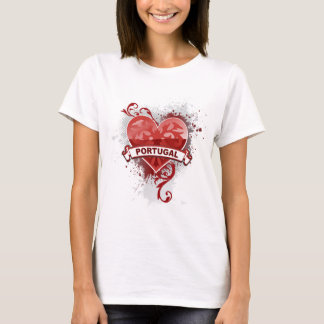 T-shirt Amour Portugal