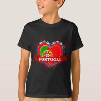 T-shirt Amour Portugal du cru I