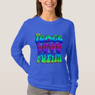 T-shirt Amour Purim de paix
