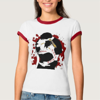T-SHIRT AMOUR RICHE N MIGNON CLYDE DE DAMES