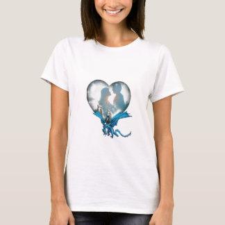 T-shirt Amour romantique