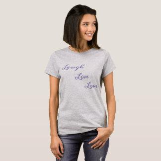 T-shirt Amour vivant de rire
