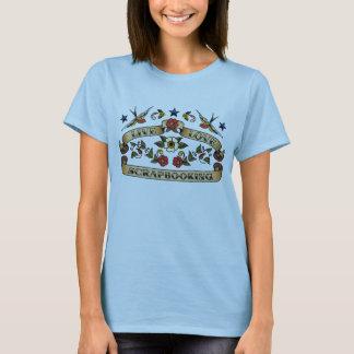 T-shirt Amour vivant Scrapbooking