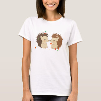 T-shirt Amour WomanTshirt de hérissons