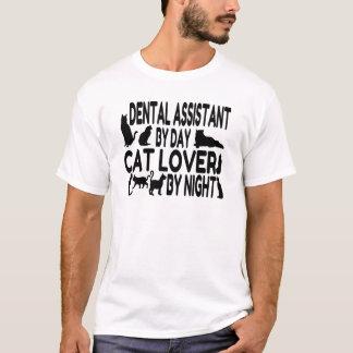 T-shirt Amoureux des chats d'assistant dentaire