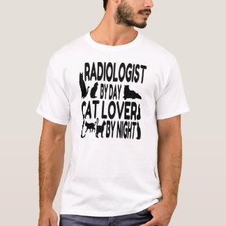 T-shirt Amoureux des chats de radiologue