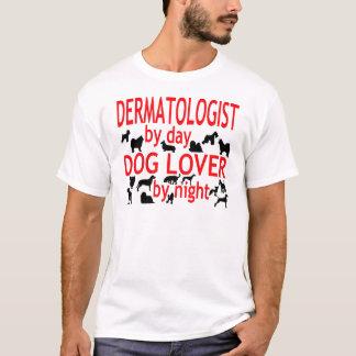 T-shirt Amoureux des chiens de dermatologue