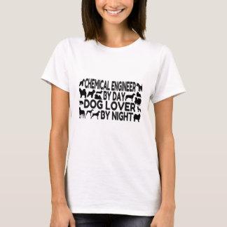 T-shirt Amoureux des chiens d'ingénieur chimiste