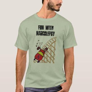 T-shirt Amusement avec la narcolepsie