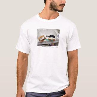 T-shirt amusement de brossage de sandwich !