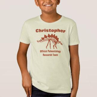 T-Shirt Amusement de dinosaure de paléontologie