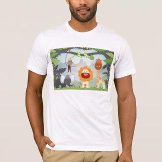 T-shirt Amusement de jungle