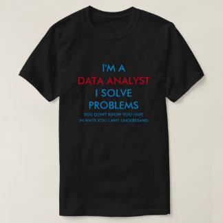 T-shirt Analyste de données