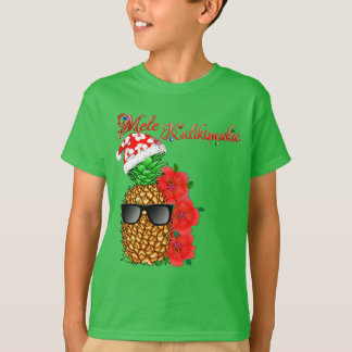 T-shirt Ananas de Noël de Mele Kalikimaka
