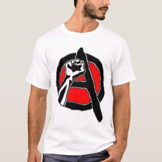 T-shirt Anarchisme (chemise blanche)