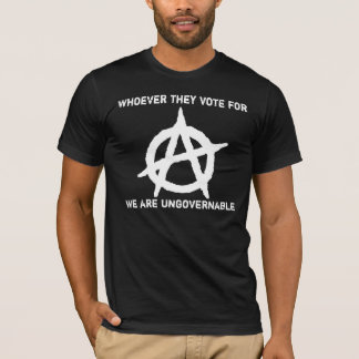 T-shirt Anarchisme - ingouvernable