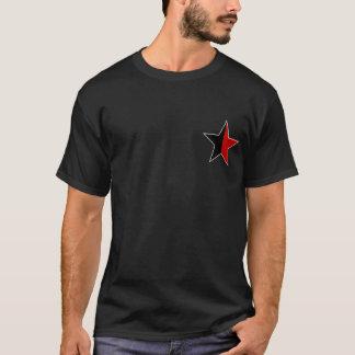 T-shirt Anarchy STAR de façon classique (noir/rouge)