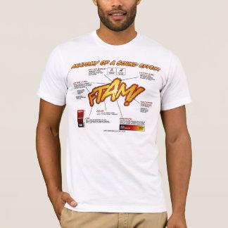 T-shirt Anatomie d'une chemise d'effet sonore