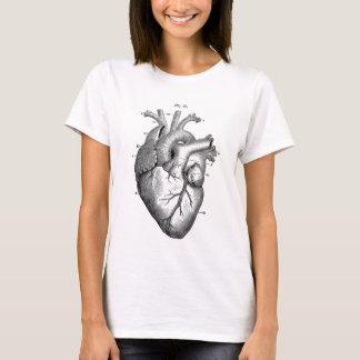 T-shirt Anatomie vintage | de coeur personnalisable