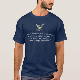 T-shirt Ancêtres de guerre civile de Nombreux-Thomas