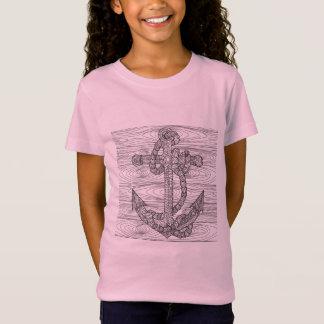 T-Shirt Ancre et corde de style
