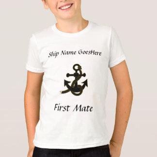 T-shirt - ancre, nom de bateau