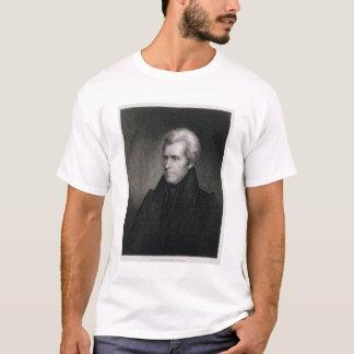 T-shirt Andrew Jackson (gravure)
