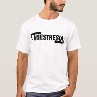 T-shirt Anesthésie