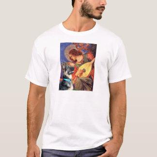 T-shirt Ange de mandoline - berger allemand 15