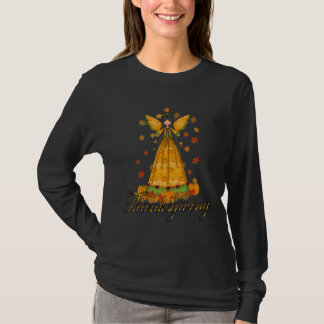 T-shirt Ange de thanksgiving