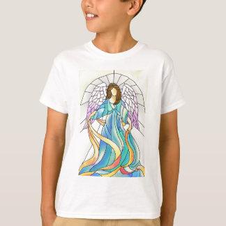 T-shirt Ange en verre souillé