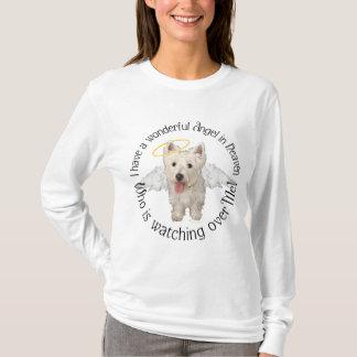 T-shirt Ange gardien de Westie