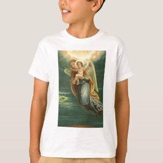 T-shirt Ange gardien et bébé Jésus