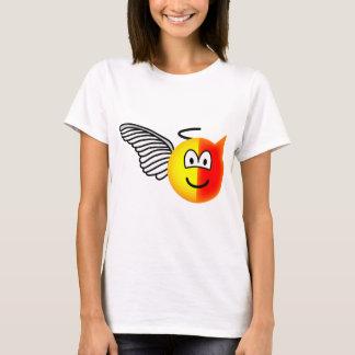 T-shirt Ange ou émoticône de diable