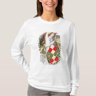T-shirt Ange tenant un bouclier