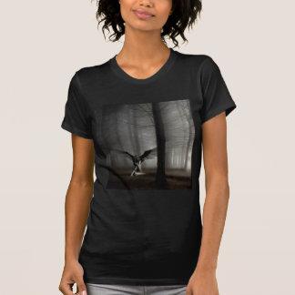 T-shirt Ange tombé par ange abstrait