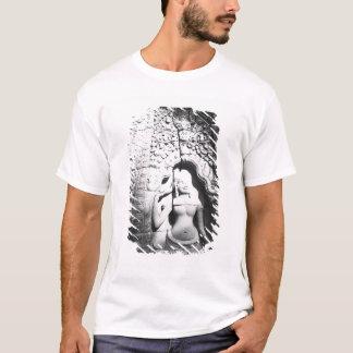 T-shirt Angkor Cambodge, Apsara découpant le Bayon