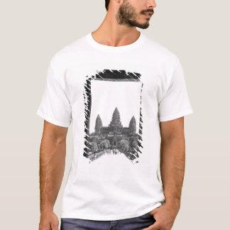 T-shirt Angkor vue 2 de porte de Cambodge, Angkor Vat