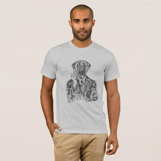 T-shirt anglais de mastiff