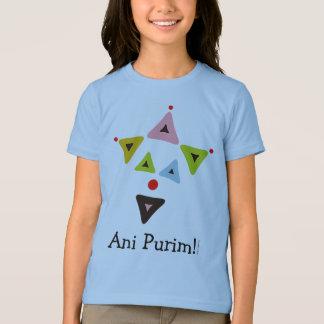 T-shirt Ani Purim de clown de Hamantaschen